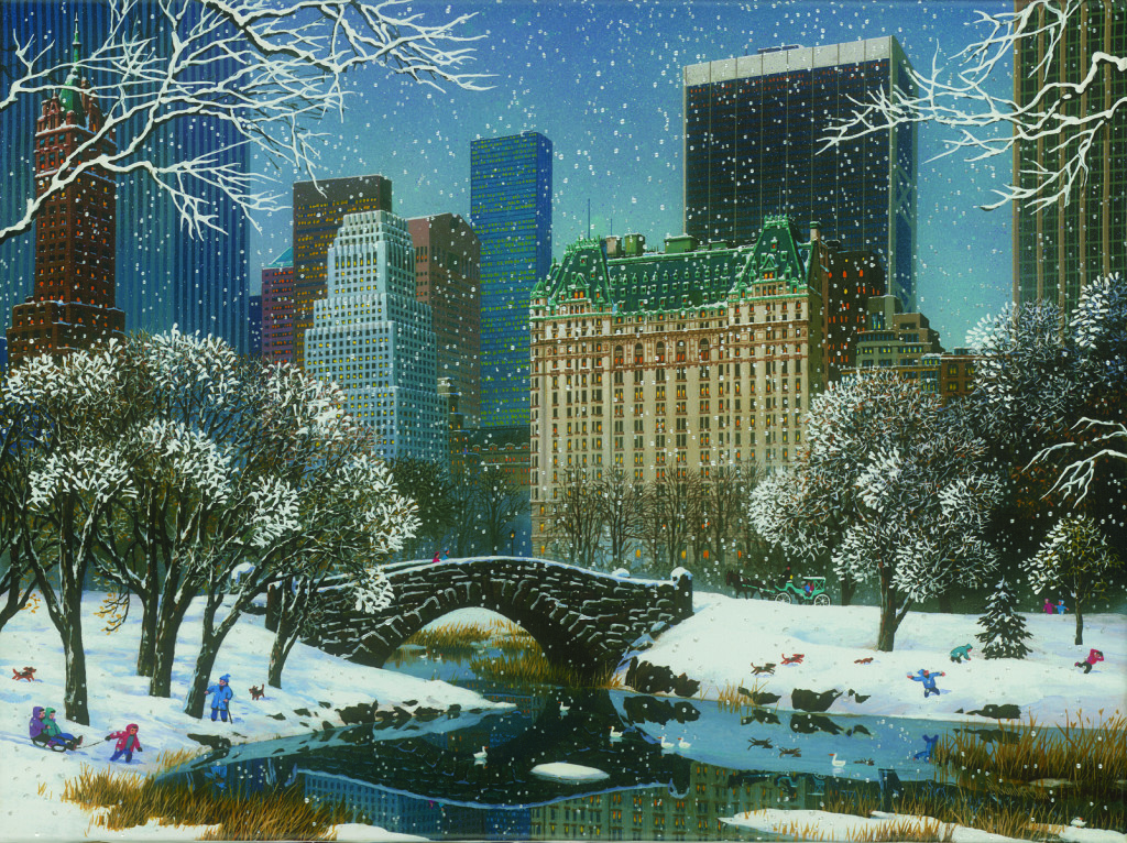 """Central Park Winter"" (2007)"