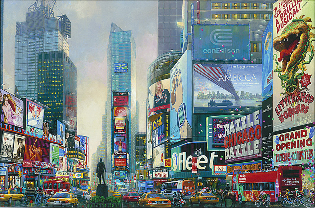 Alexander Chen Times Square South